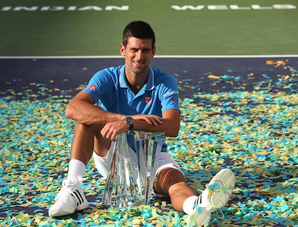 Novak Djokovic Indian Wells tennis