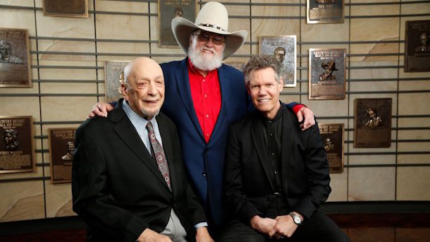 Fred Foster, Charlie Daniels and Randy Travis are the 2016 Country Music Hall of Fame inductees. Photo: John Russell / CMA