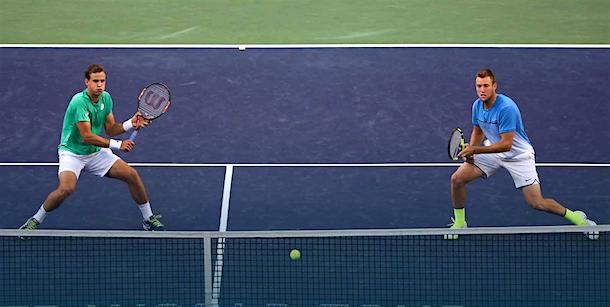 tennis Jack Sock Vasek Pospisil Indian Wells
