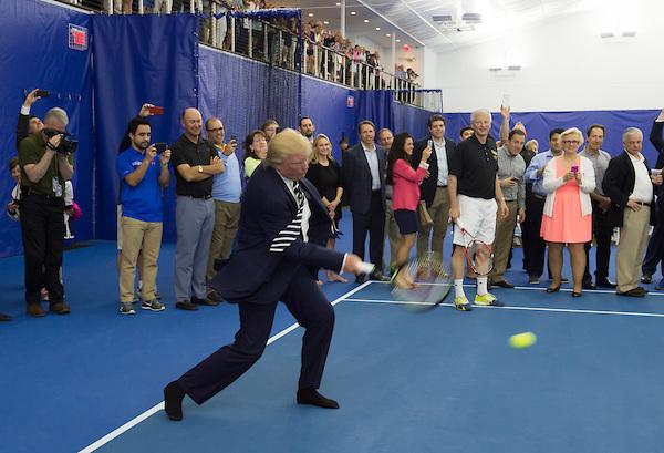 tennis Donald Trump