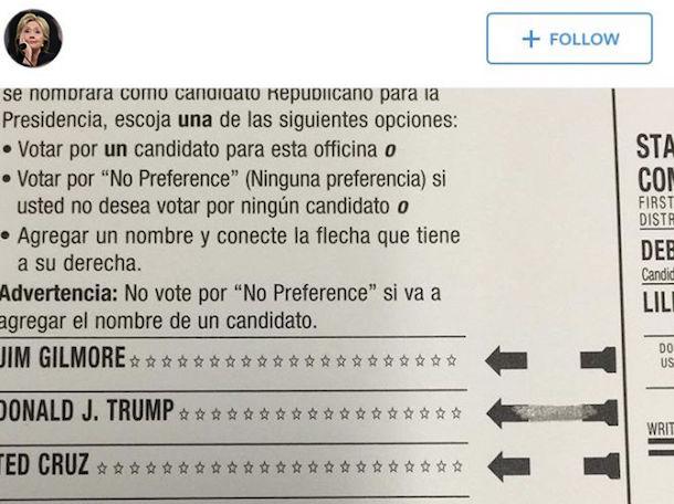 ballot copy