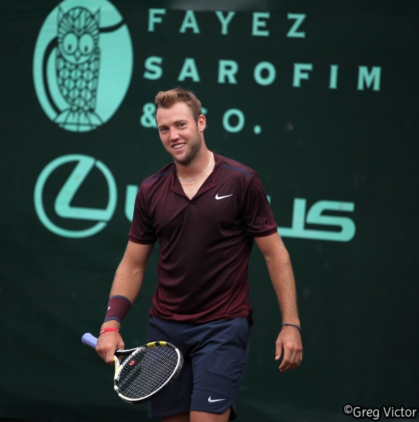 Defending Champion, Jack Sock.