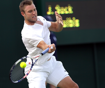 Jack Sock ready for round 2 at Wimbledon