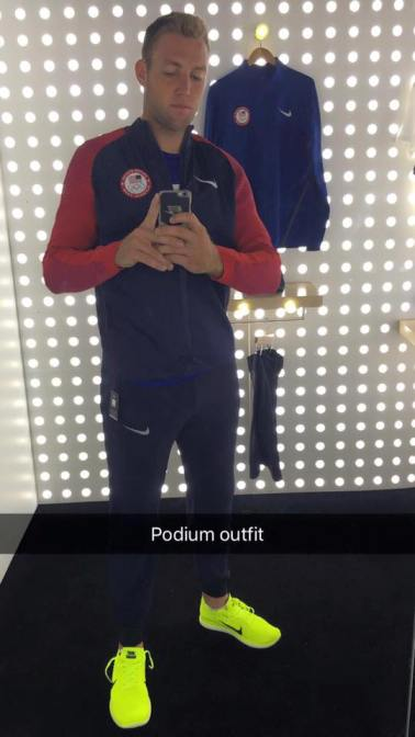 American Olympian Jack Sock tries on his 'Podium Outfit'