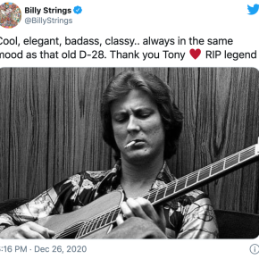 Missing Tony RiceAlready
